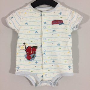 First Moments Baby 3-6M Lobster Lookout Bodysuit